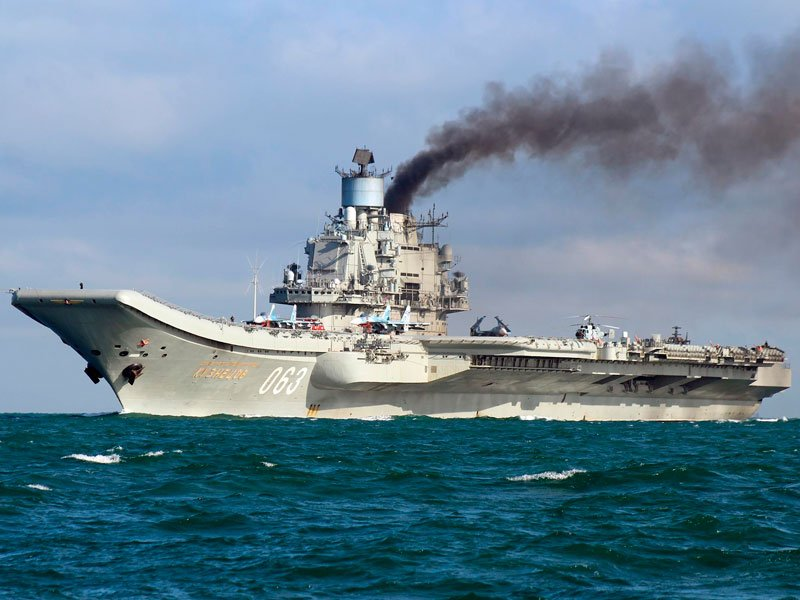 Ракетный комплекс «Гранит» на«Адмирале Кузнецове» небудет заменен
