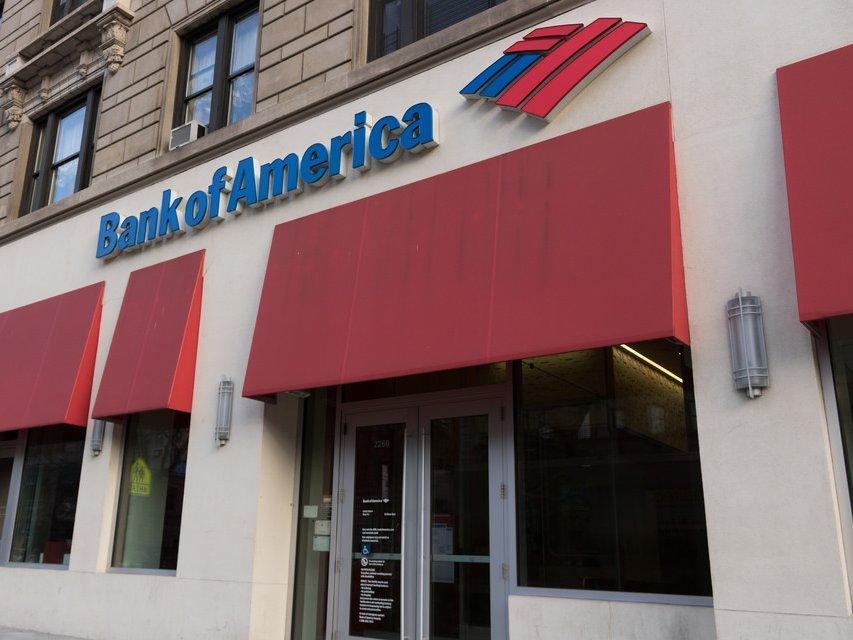 Bank ofAmerica открыл три отделения без персонала