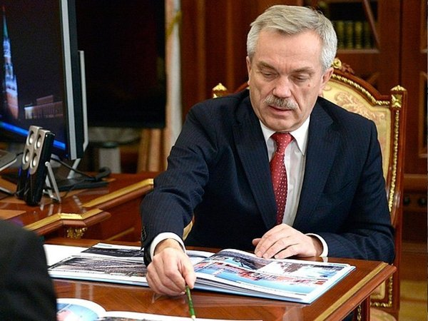 Губернатор Белгородской области Евгений Савченко.
