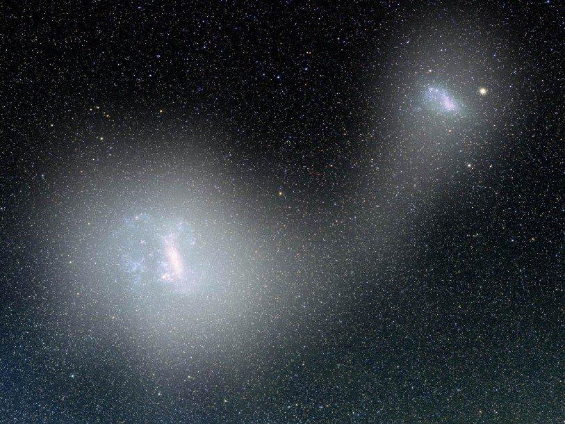 Ученые обнаружили галактический мост вблизи Млечного пути