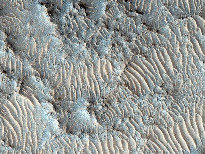 Предложены места для посадки марсохода Mars 2020