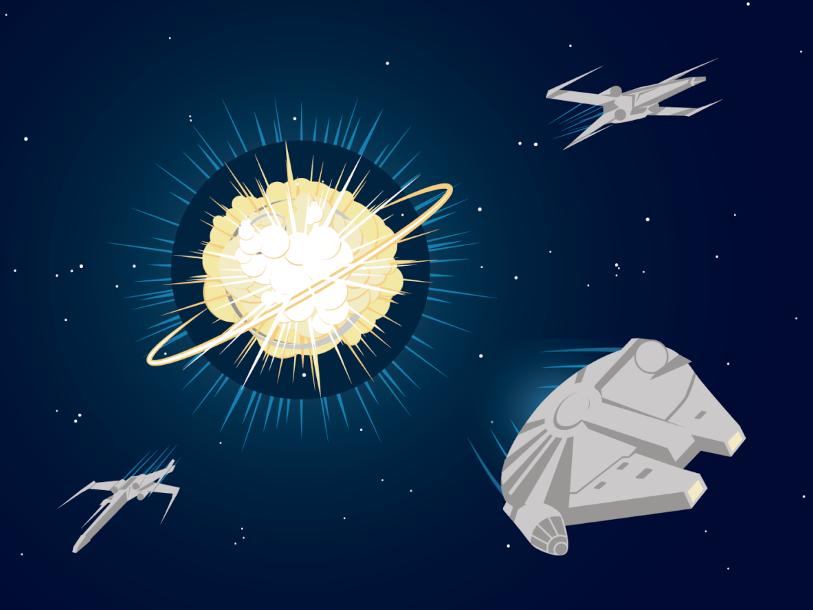 Cколько звезд сможет захватить и разрушить межгалактический союз?