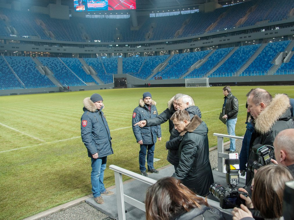 Стоимость стадиона наКрестовском назовут компетентные органы— Губернатор
