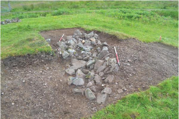 Погребальная ладья в Шотландии