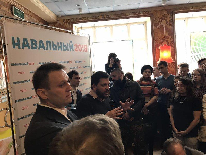 ВХабаровске схвачен один из основных активистов штаба Навального