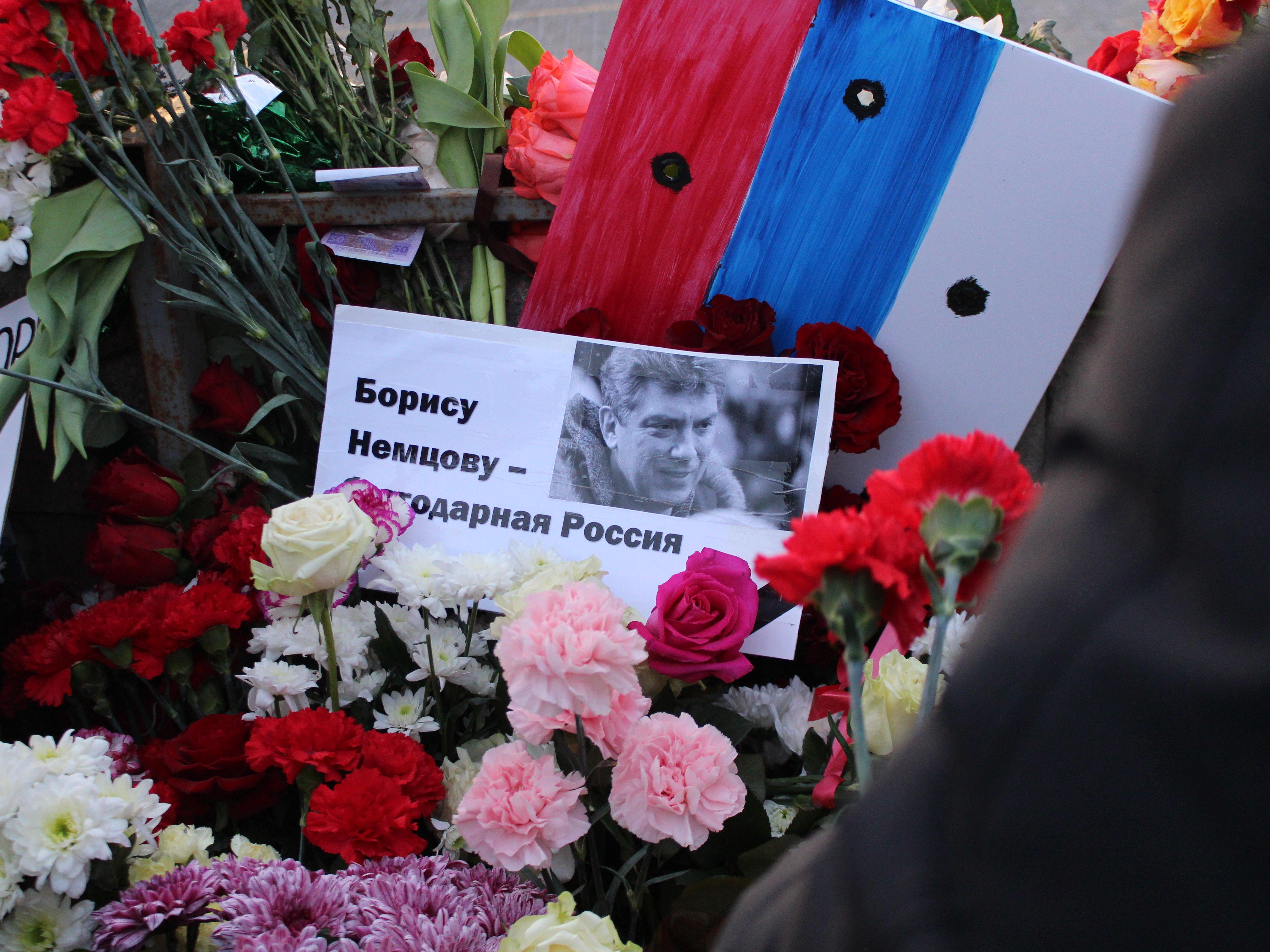 В столице России началось шествие памяти Немцова
