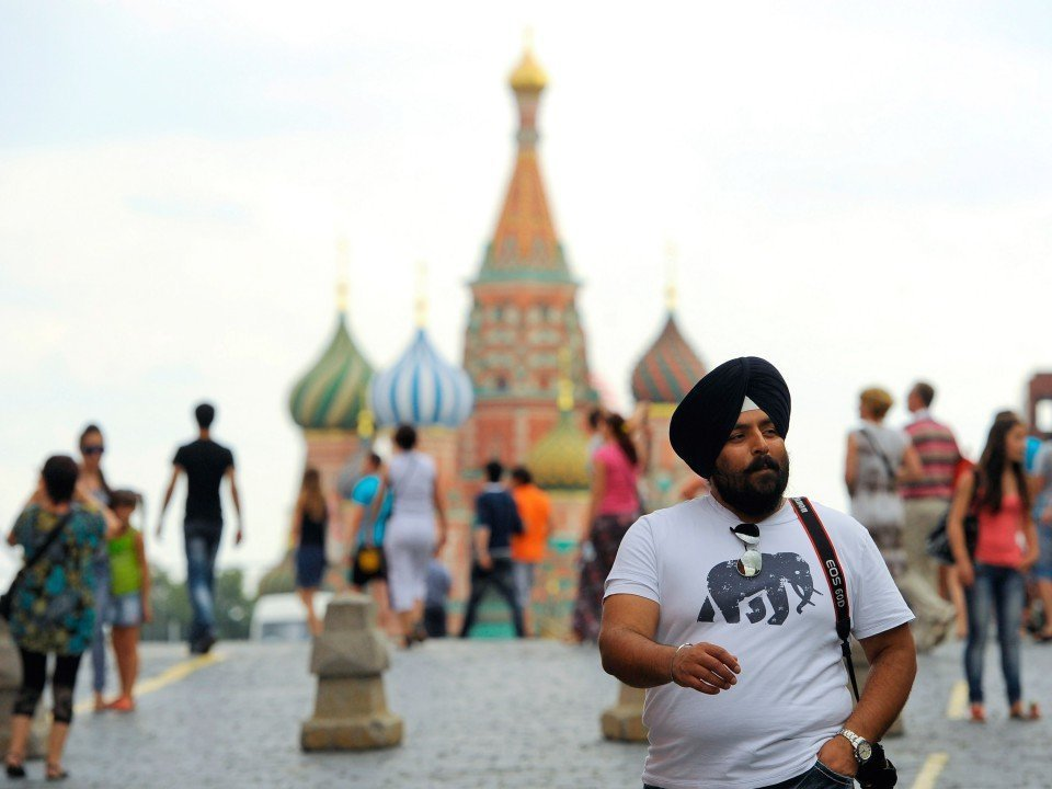 Въездной туризм в Российскую Федерацию вырос втечении следующего года на7%