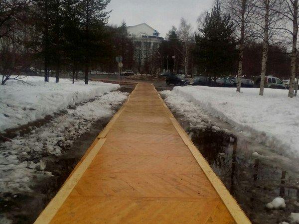 Паркетный настил в Архангельске