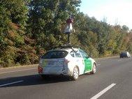 Автомобиль Google Maps