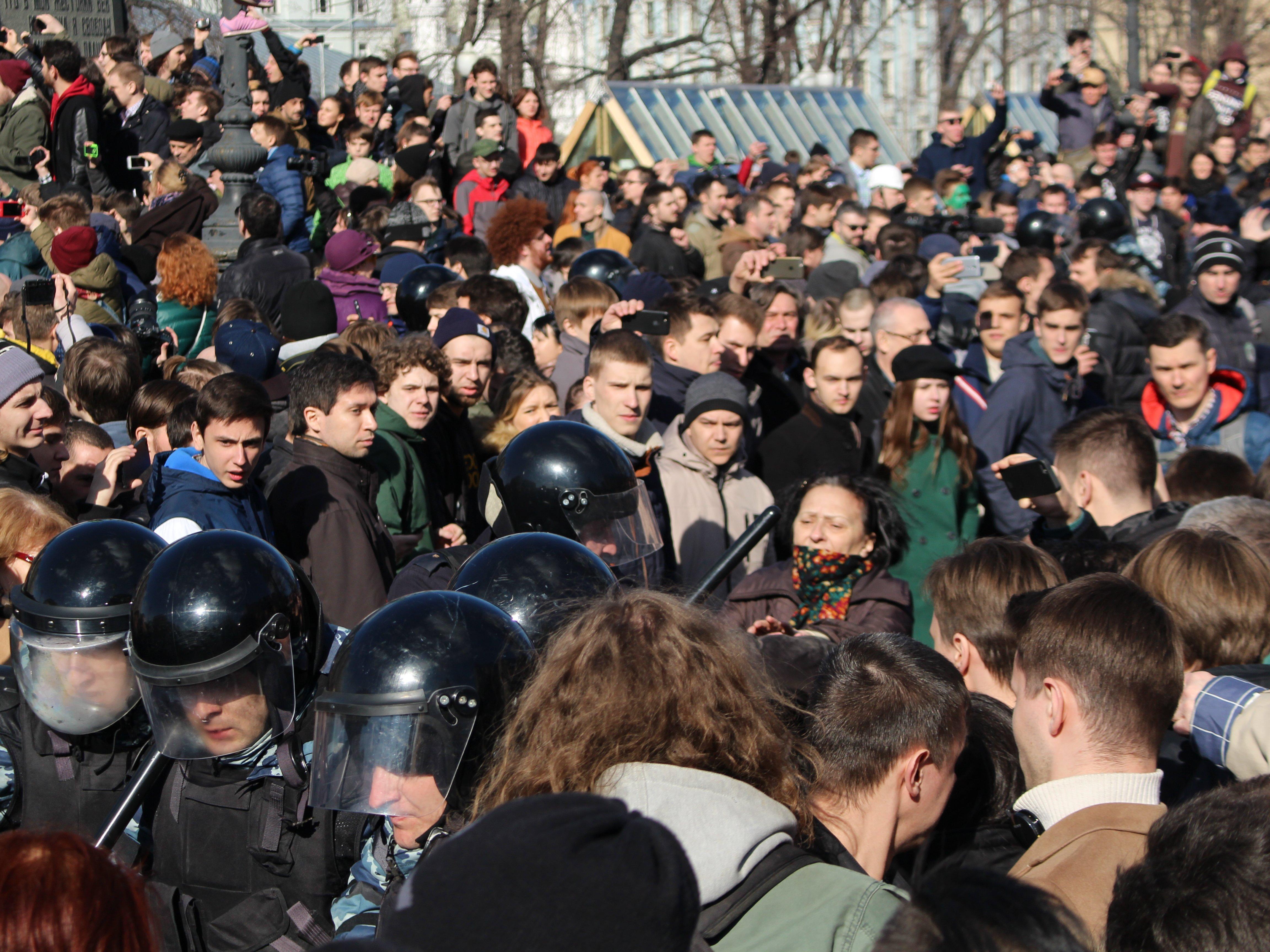 ВВолгограде научастника митинга против коррупции заведено уголовное дело