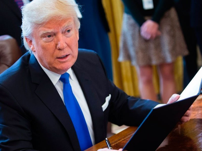 Трамп согласился навременное повышение госдолга США