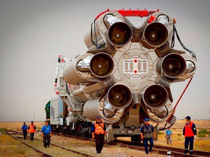 Ракетоноситель с двигателем Протон-М