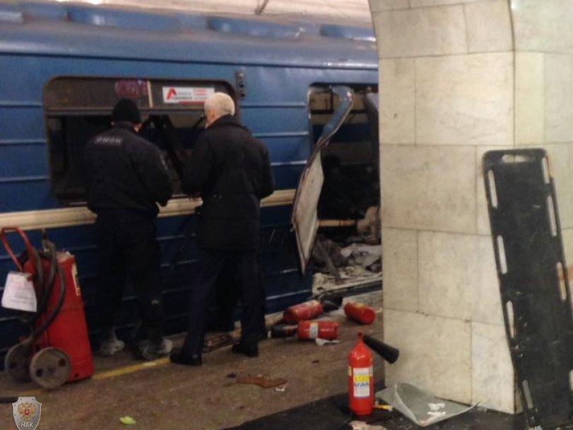 Теракт вПетербурге финансировали участники международной террористической группы изТурции