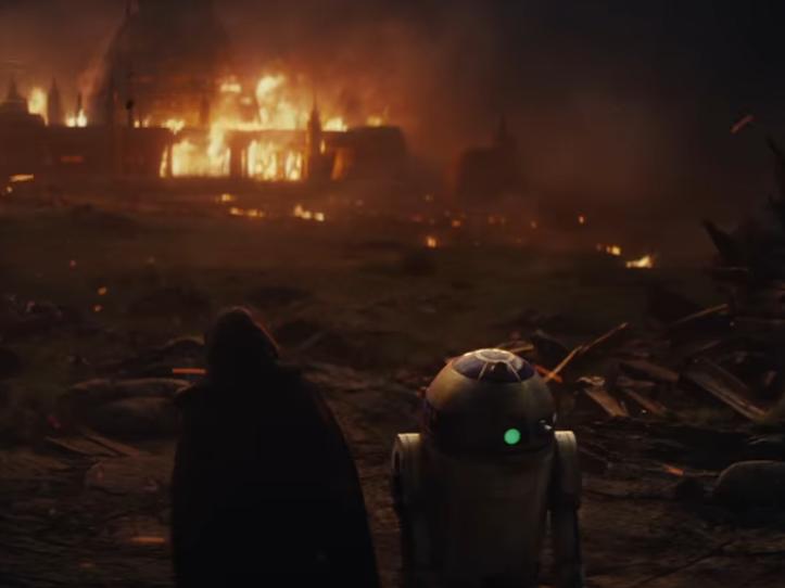 Винтернете появился 1-ый трейлер восьмого эпизода «Звездных войн»