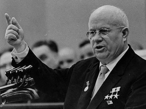Секретный доклад Хрущёва уйдёт смолотка