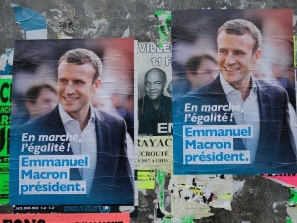 ВоФранции афишировали заключительные результаты первого тура президентских выборов