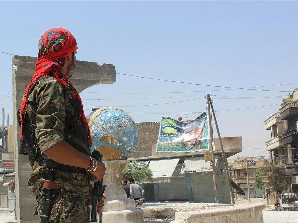 Сирийские повстанцы неподдержали предложение озонах безопасности