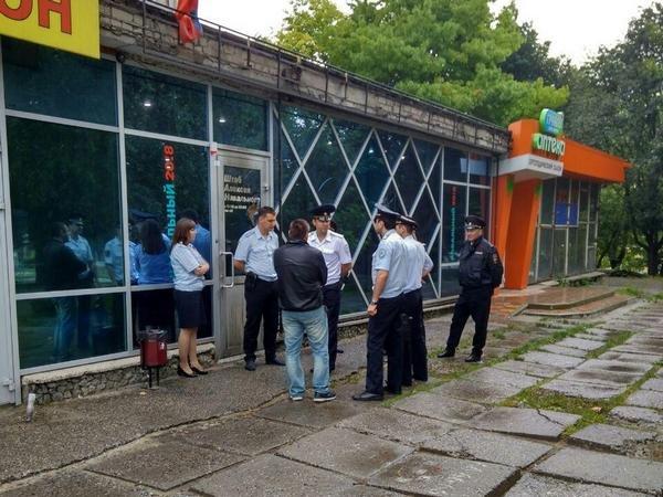 Внападении наштаб Навального вСтаврополе подозревали  владельца помещения
