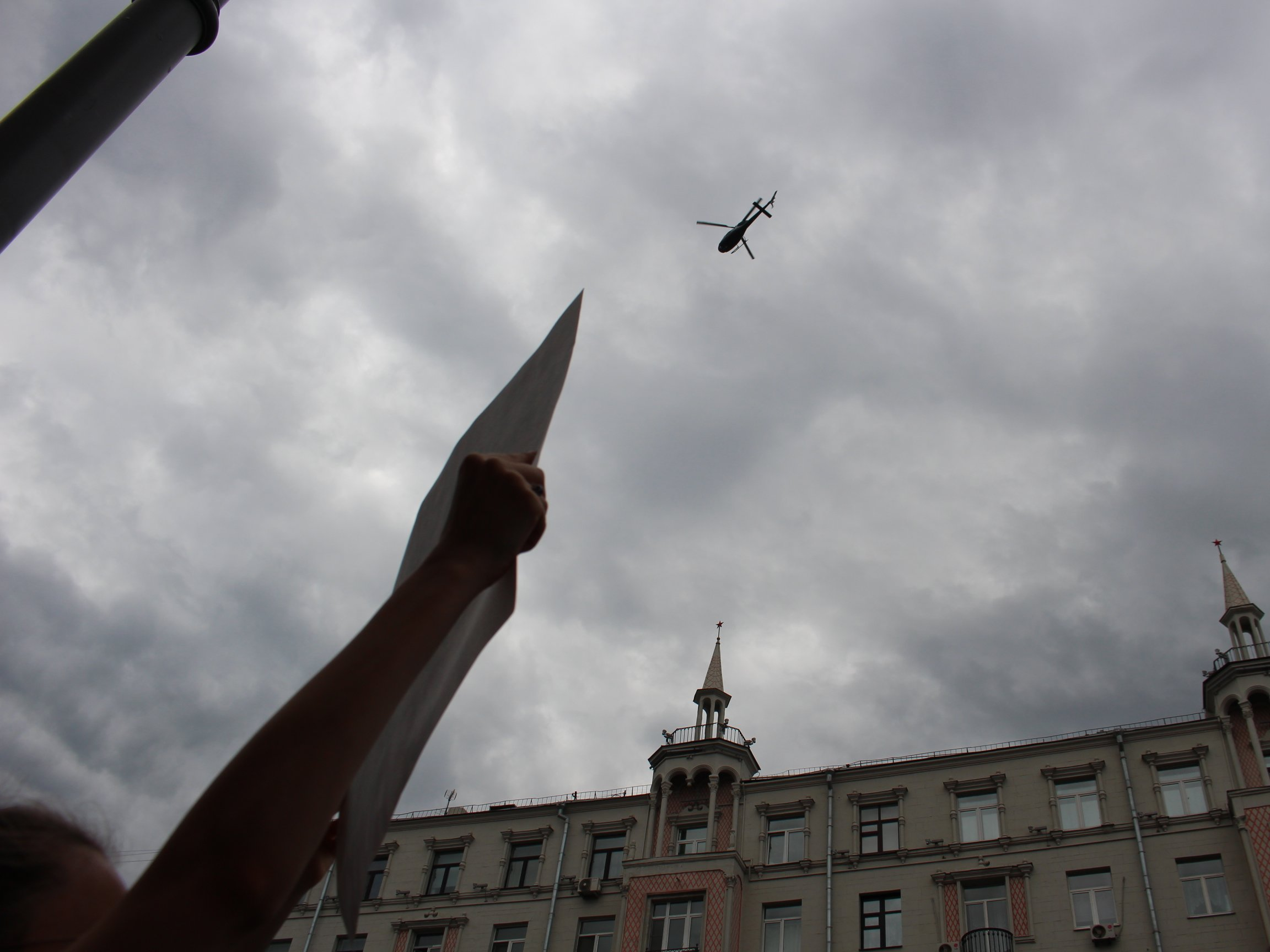 Арестованного после акции 12июня держали в«помещении для пыток» вМосгорсуде