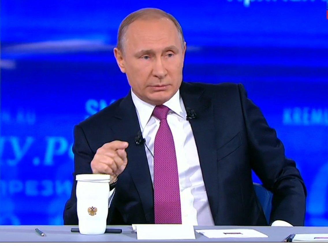 Путин поведал, чтобы сделал смашиной времени