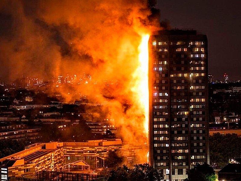 The Telegraph пояснила быстрое распространение огня в английской высотке