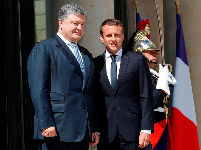 Украина раскрыла детали «формулы Макрона»