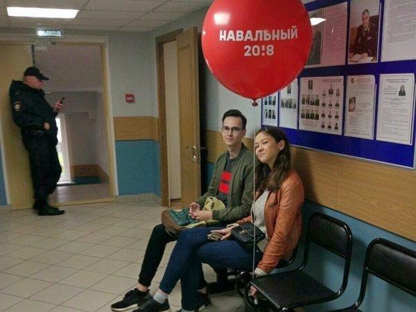 В столице  задержаны десятки приверженцев  Навального