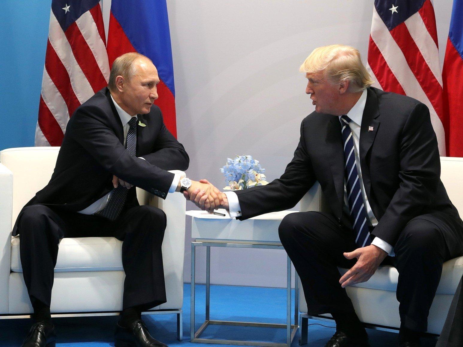 Путин поблагодарил Трампа запомощь ЦРУ впредотвращении теракта вПетербурге