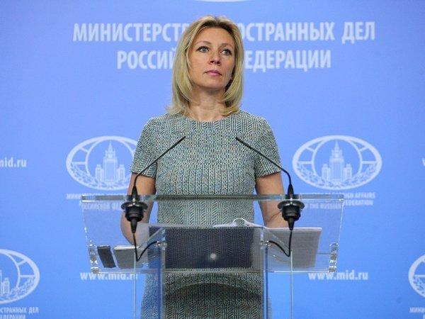 Захарова обвинила США впопытке вмешаться ввыборы