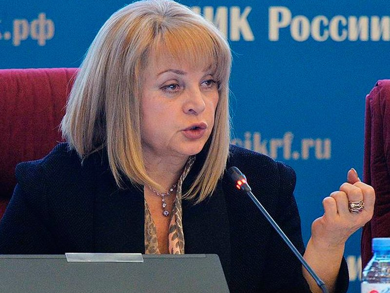Памфилова: вбросы навыборах были невпользу В.Путина