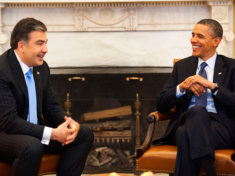 Саакашвили. Конец политической карьеры