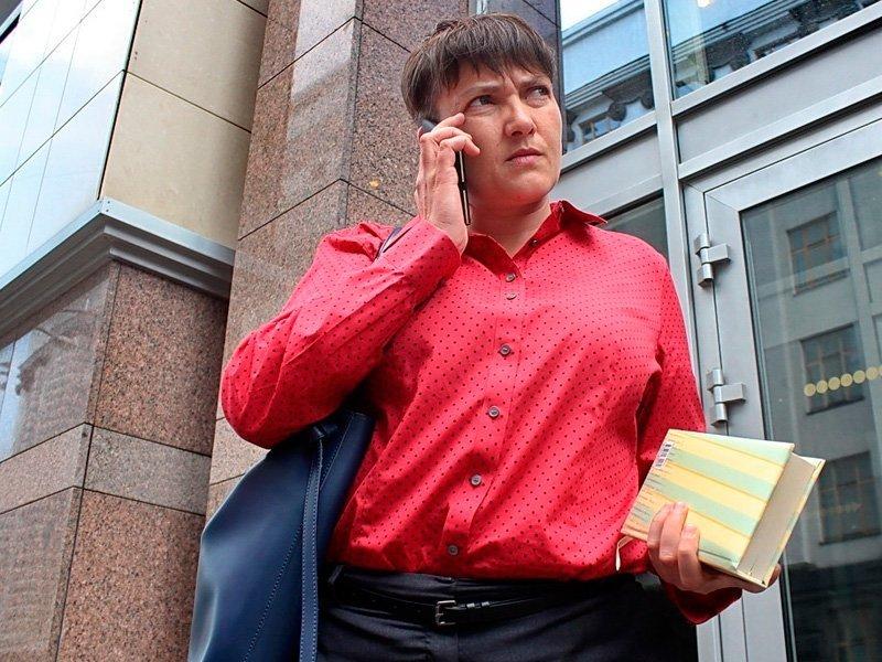 Савченко накинулась наеду ради полиграфа