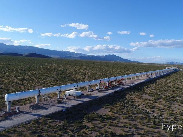 Команда Hyperloop One разогнала поезд до 310 км/ч: новый рекорд