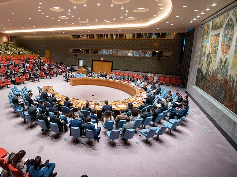 Вмеждународной Организации Объединенных Наций внесена обновленная резолюция поКрыму