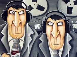 Фрагмент картины Васи Ложкина «Родина слышит»