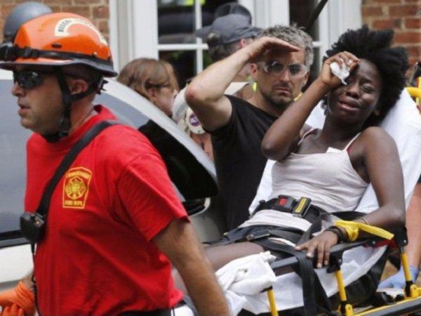 Последствия столкновений в Шарлотсвилле