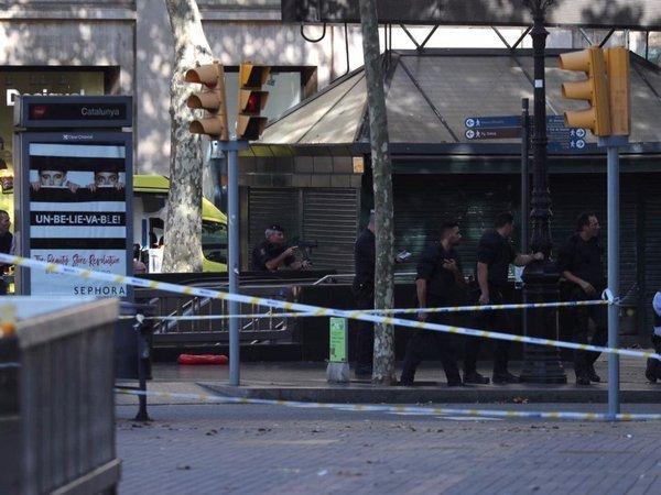 Всвязи стерактами вКаталонии схвачен третий подозреваемый