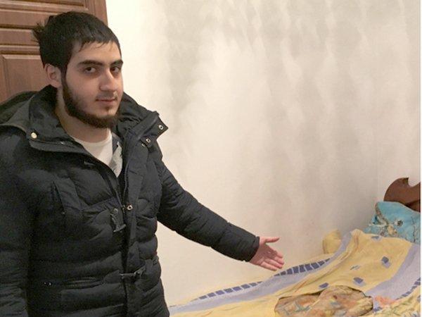 Джамалай Тазбиев обвиняемый в попытке уехать в Сирию