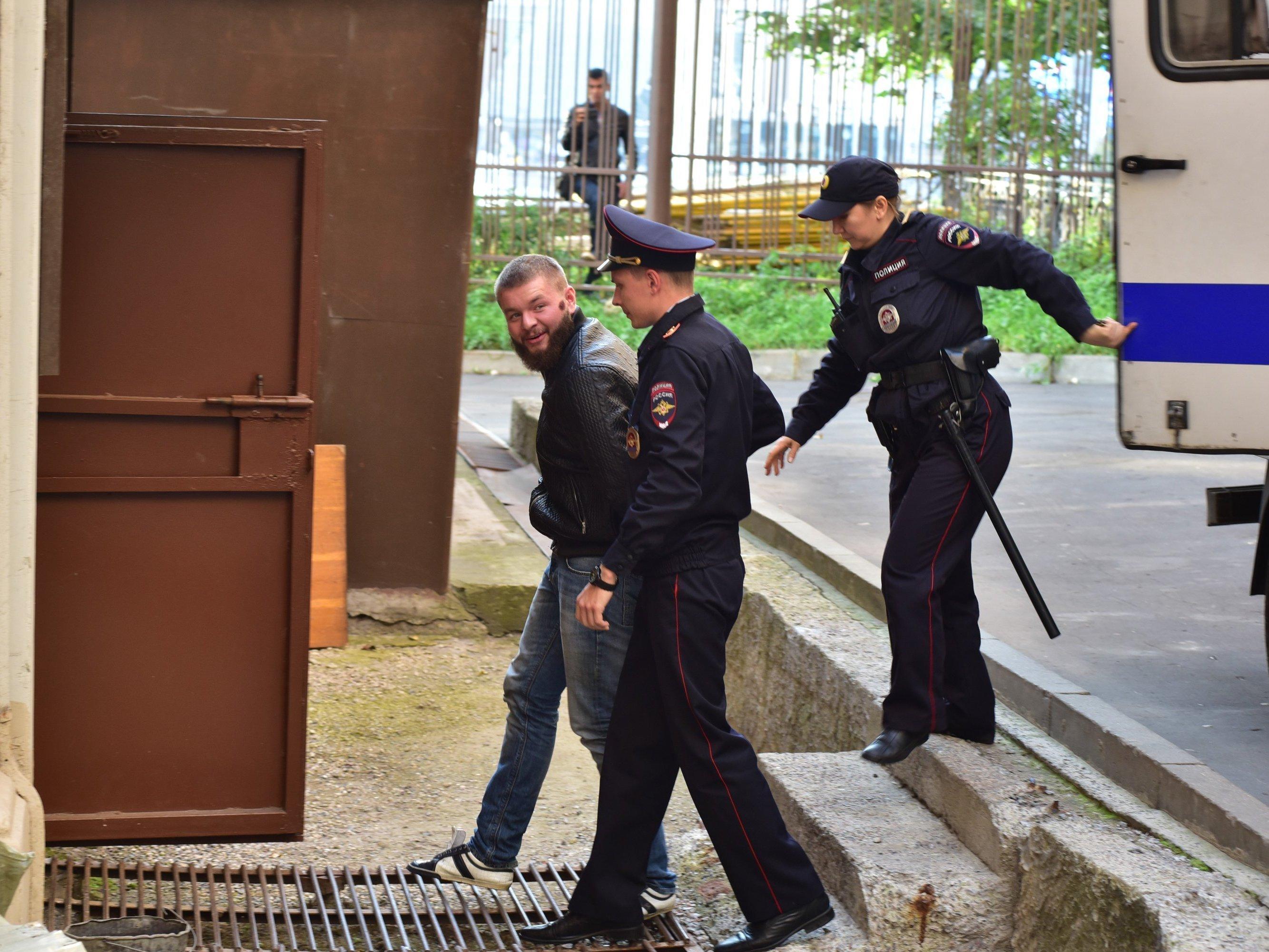Московский суд вынес вердикт трем членам «Христианского государства»