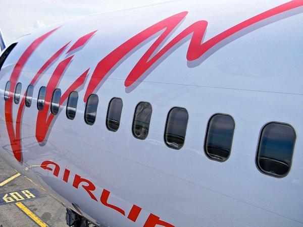 Самолет авиакомпании Вим-Авиа