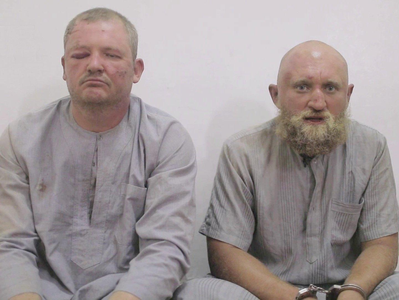 Появилось новое видео пленных вСирии граждан России