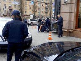 Место убийства депутата Денис Вороненкова