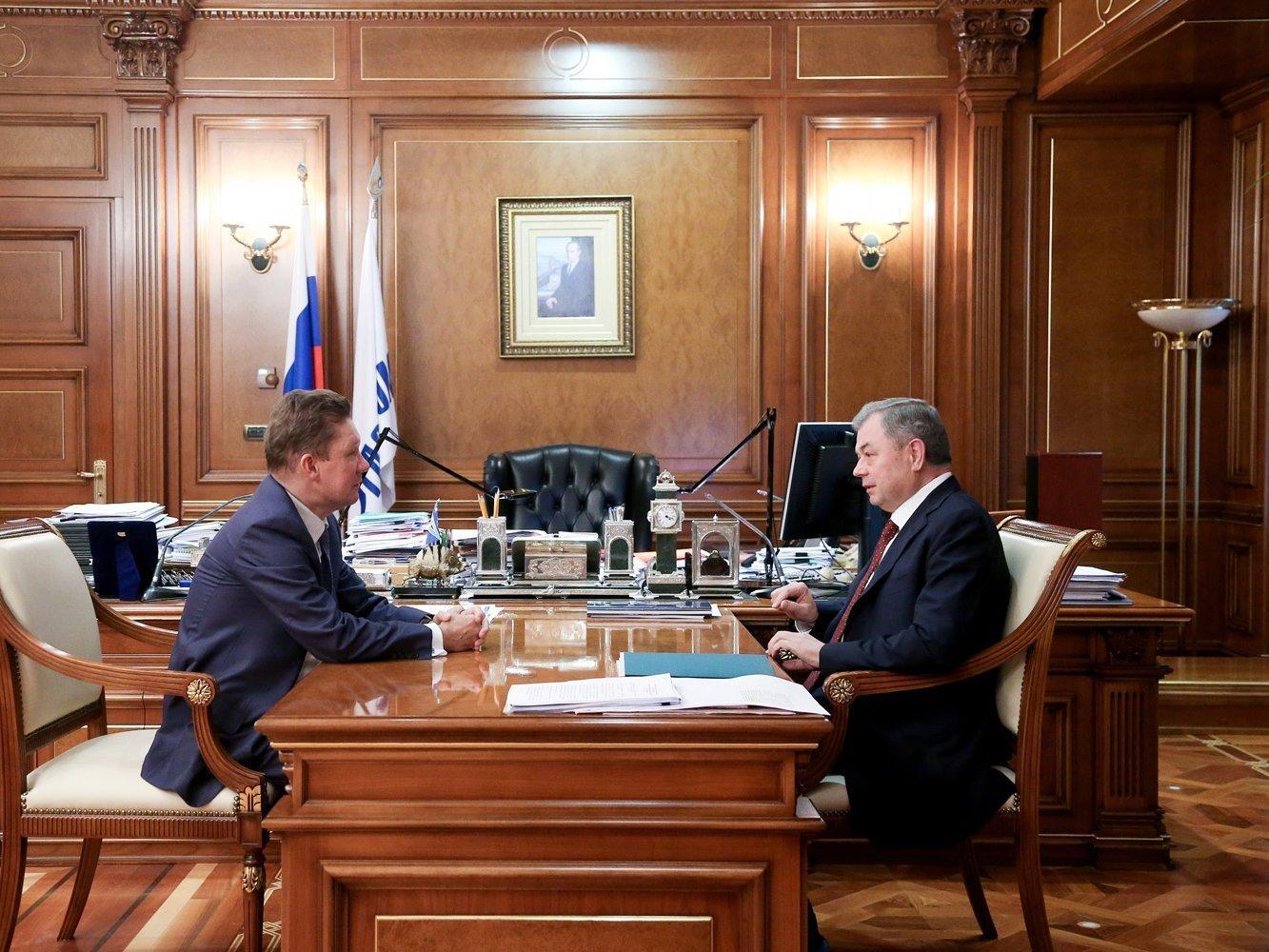 «Газпром» направит нагазификацию Калужской области в этом 2017-ом 700 млн руб.