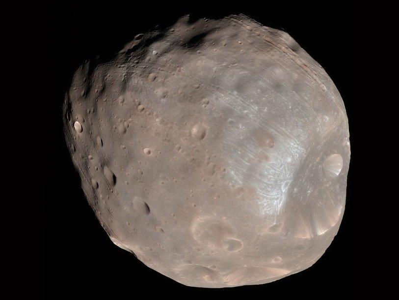 Фобос           NASA  JPL-Caltech  University of Arizona