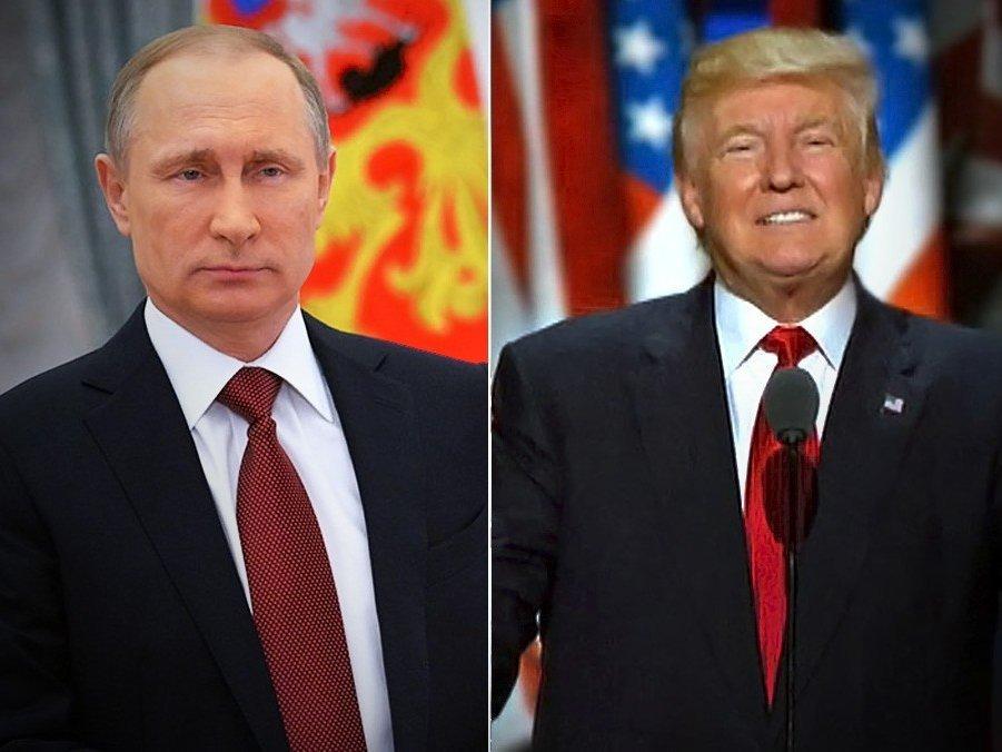 Путин предложил Трампу обсудить «болевые точки»
