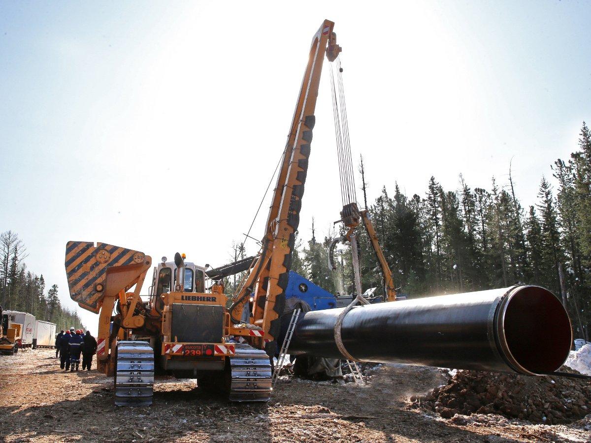 Стоимость газопровода «Сила Сибири» превысила 1 трлн руб.