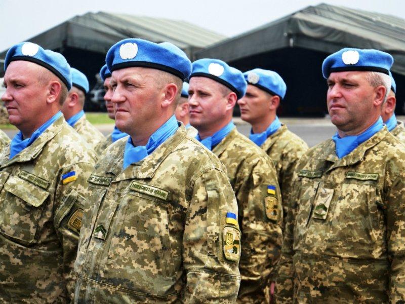 Генштаб начал подготовку квведению миротворцев ООН