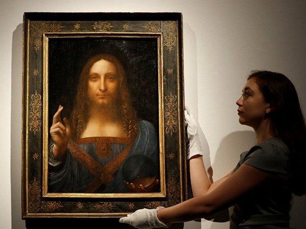 Самую дорогую картину даВинчи выставят вОАЭ