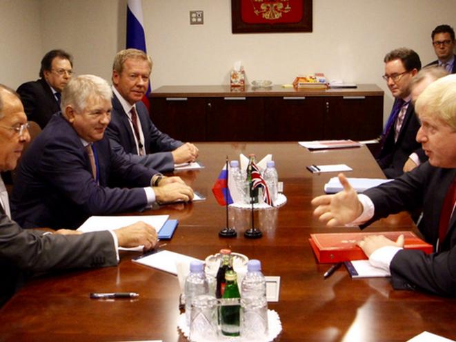 Российская Федерация как Спарта— Борис Джонсон