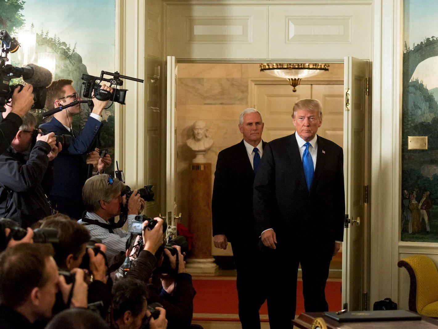 Трамп огласит стратегию государственной безопасности США